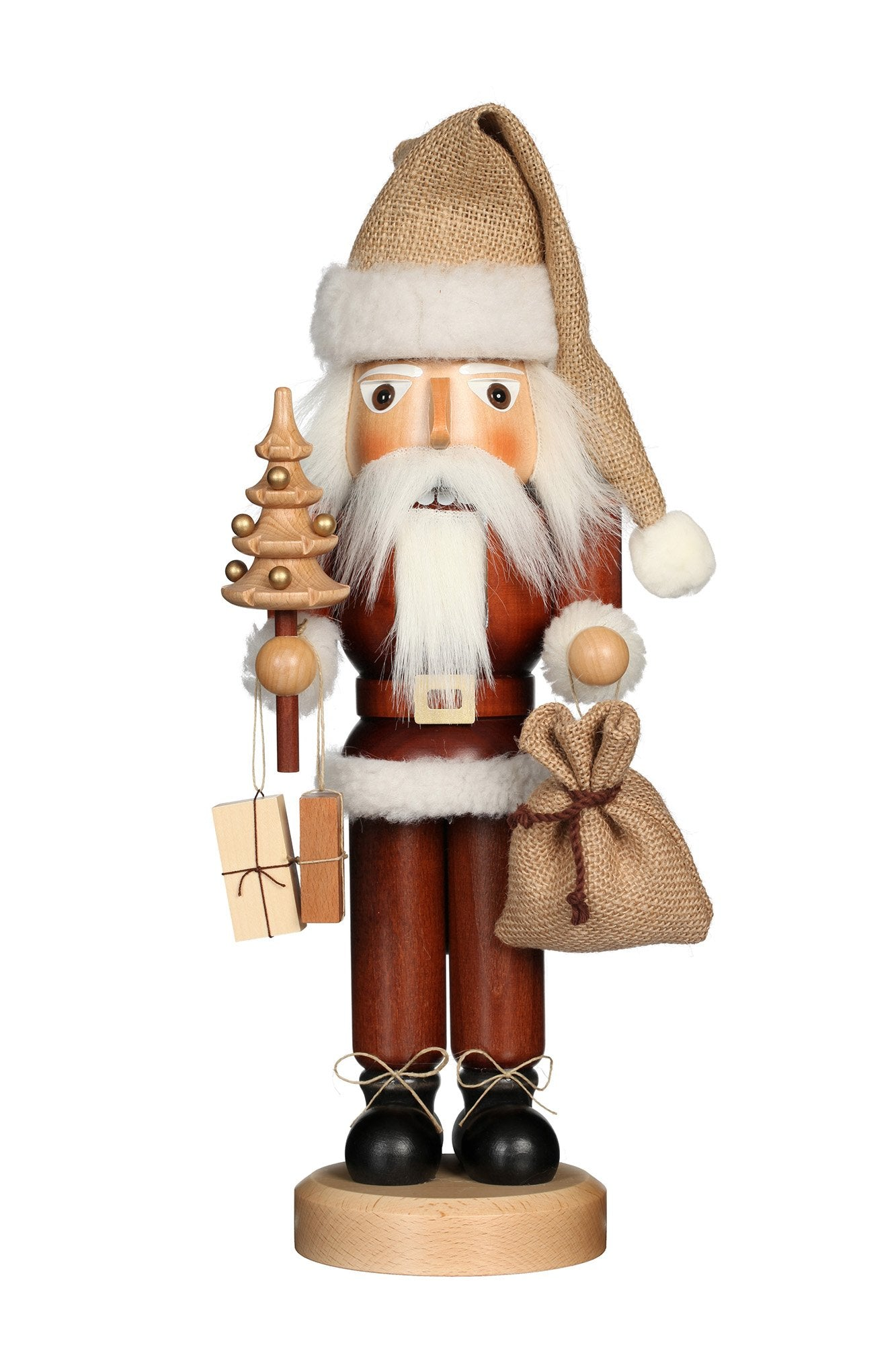 Nutcracker (Classic) - Santa Claus with Presents (Natural)