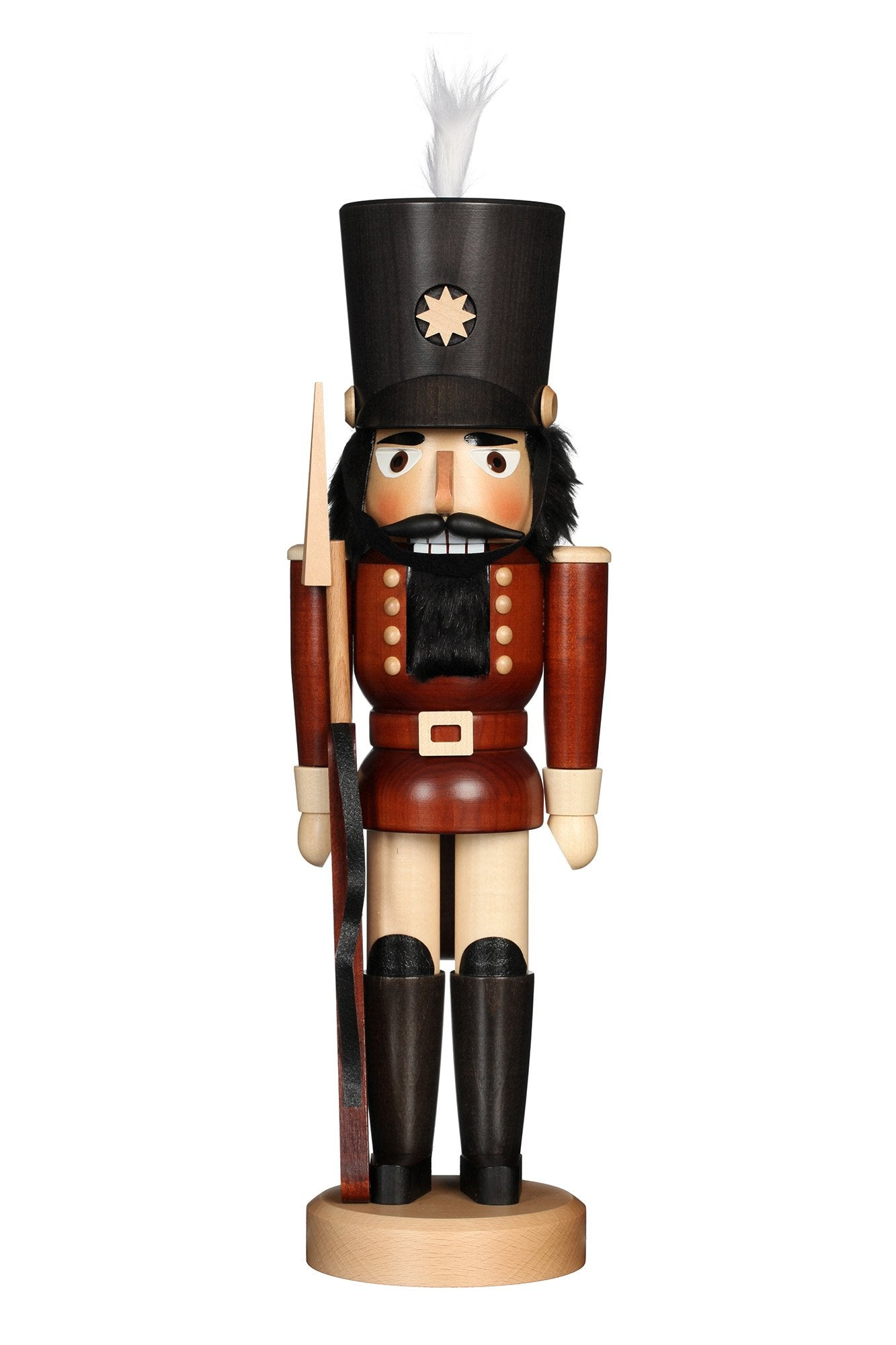 Nutcracker (Classic) - Soldier with Bayonet in Natural Tones