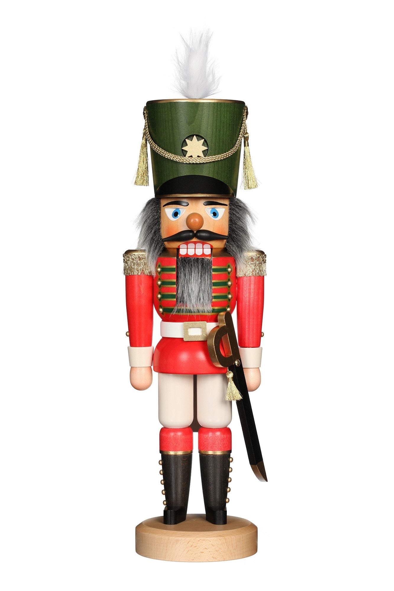 Nutcracker (Classic) - Soldier Dressed in Red and Green