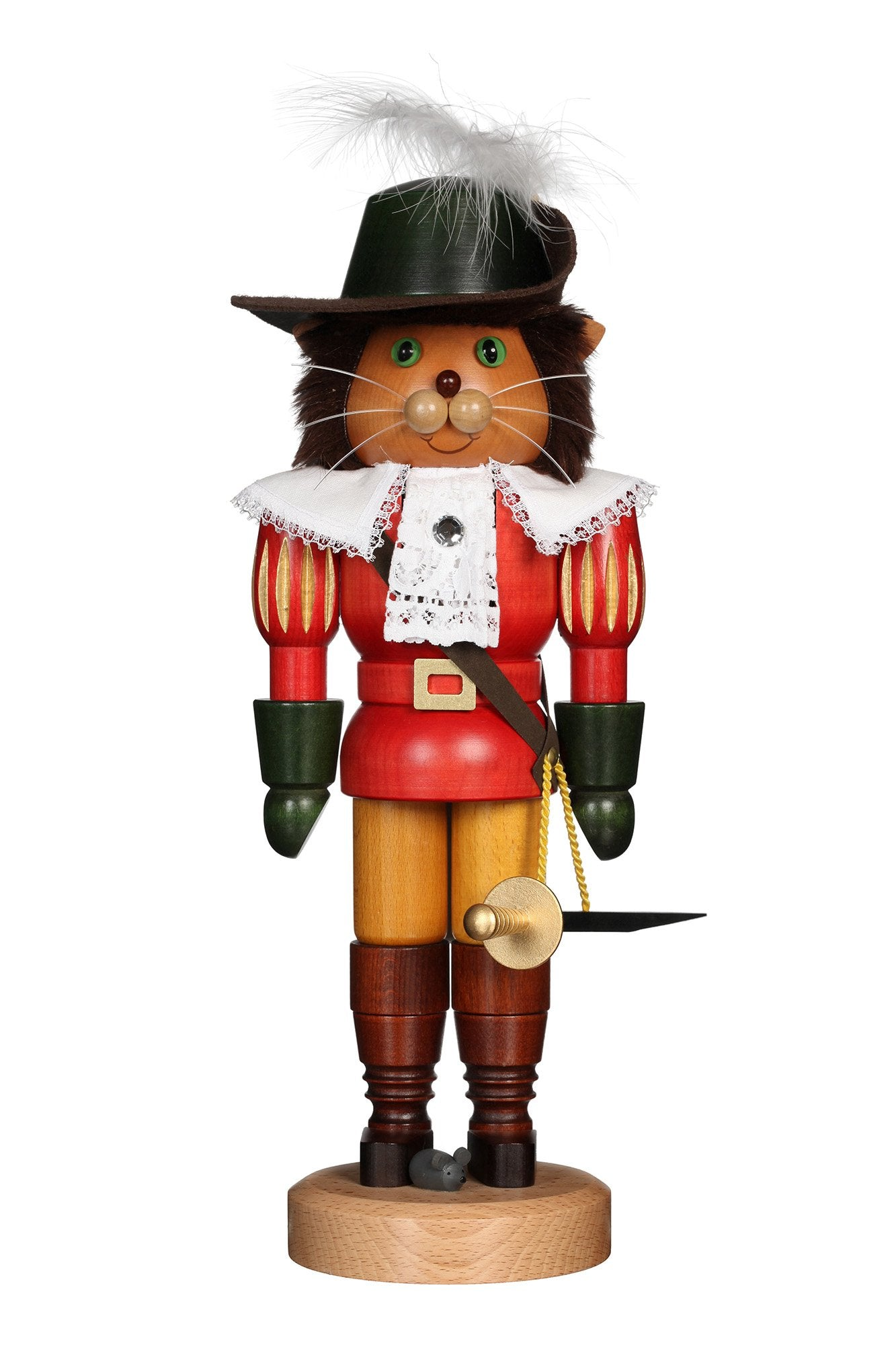 Nutcracker (Classic) - Puss in Boots with a Red Coat