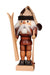 Nutcracker (Small) - Santa the Skier