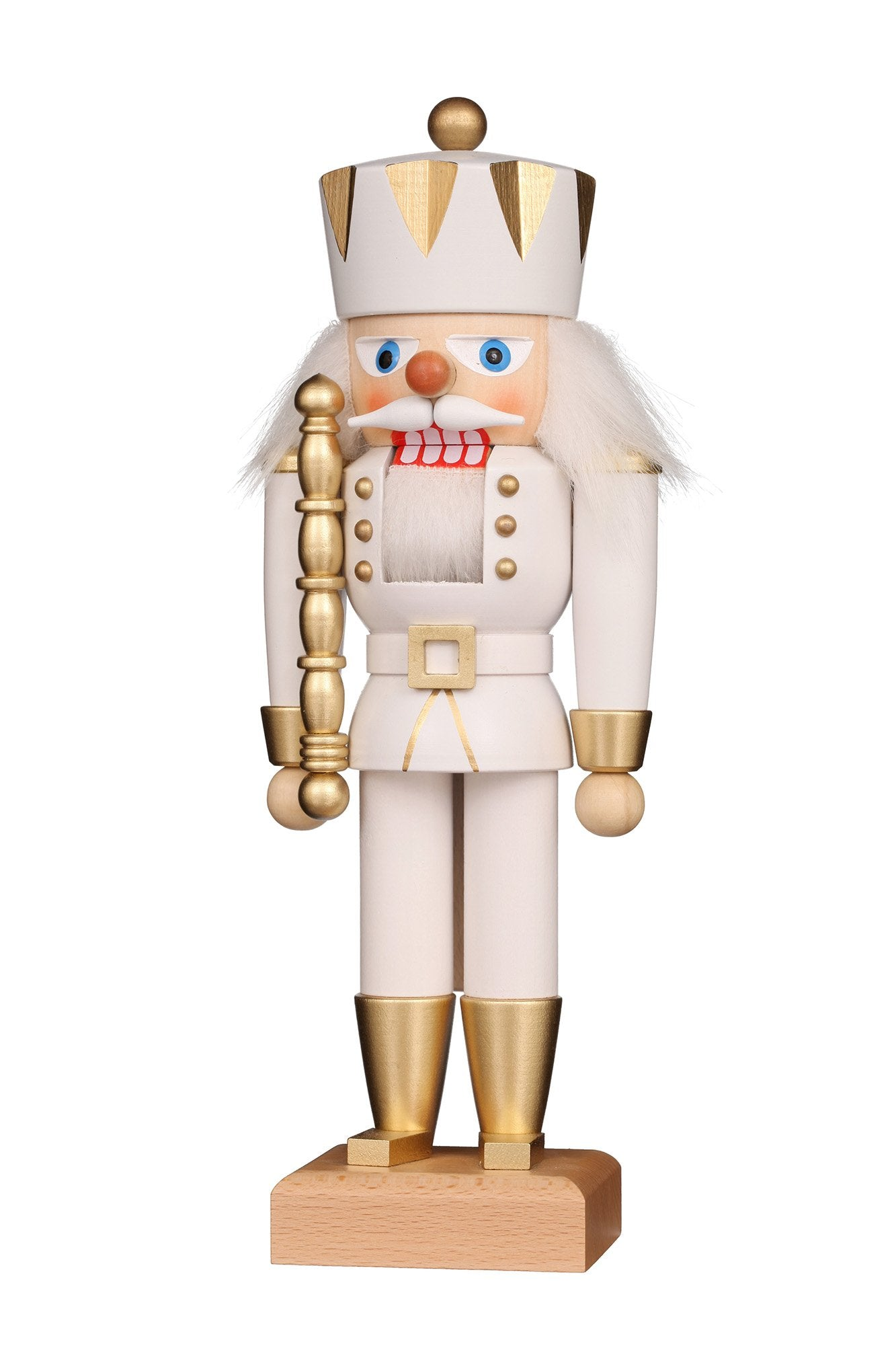 Nutcracker (Small) - King with Gloss White Coat