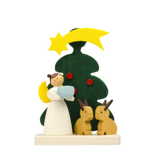 Santa's little Angel - Forest Bunnies - Christmas tree decorations