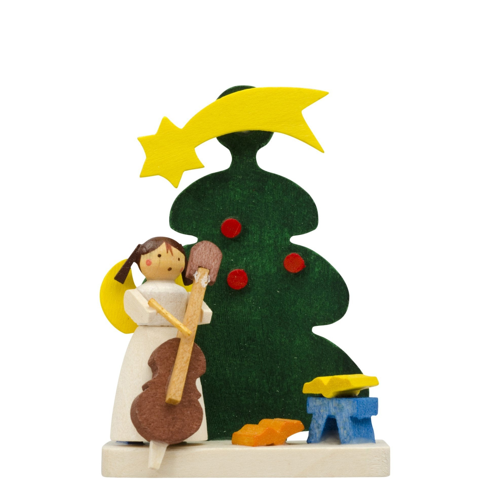 Santa's little musical angel - Christmas tree decoration