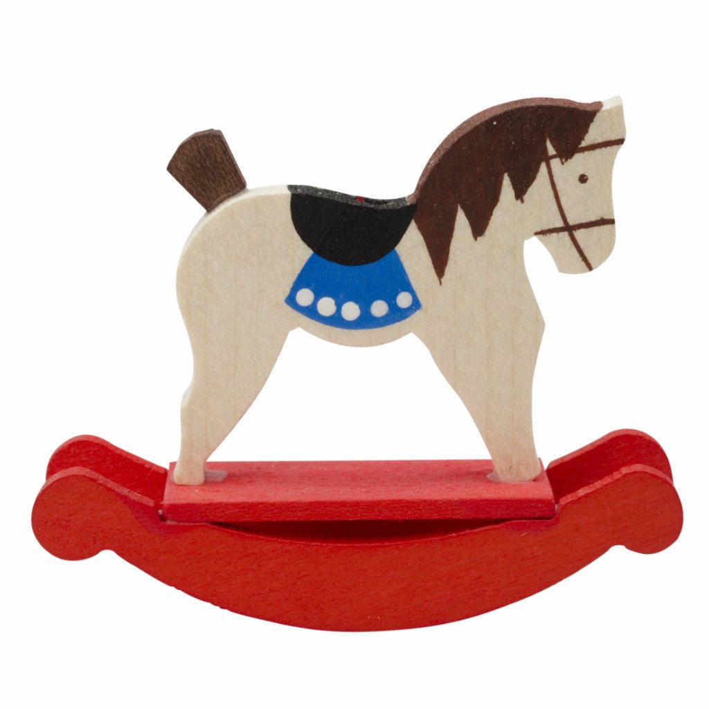 Mini Rocking Horse - Christmas tree decoration