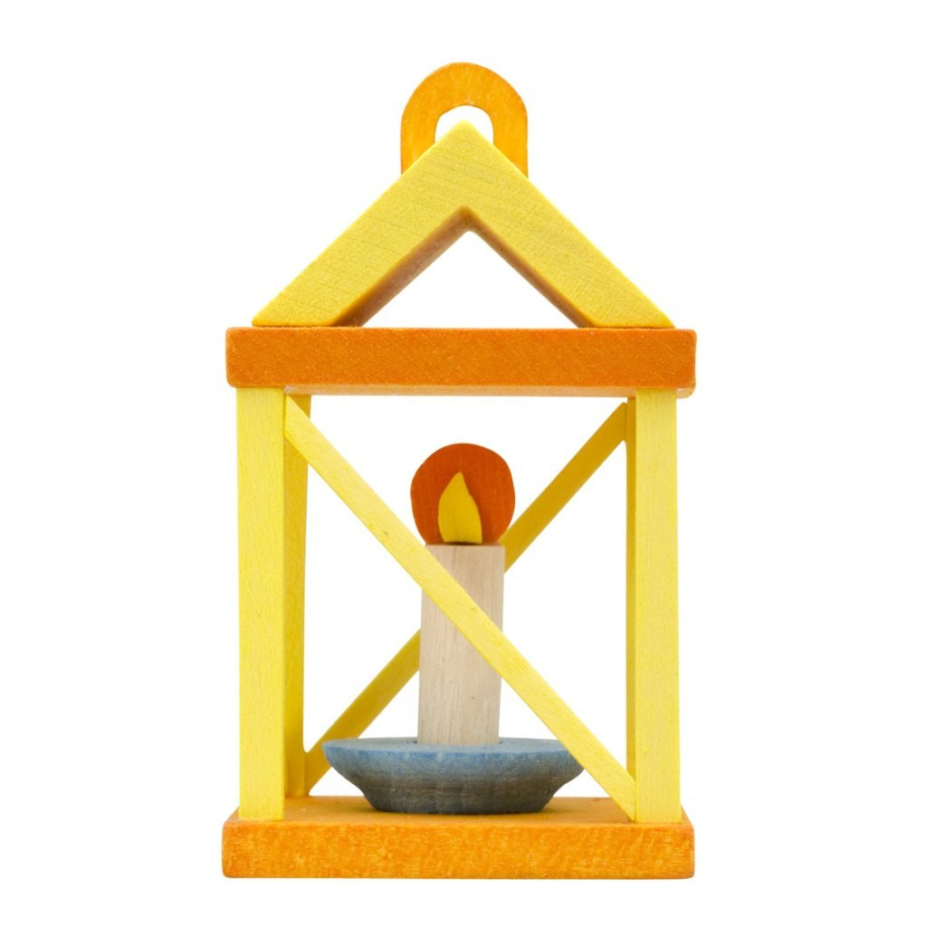 Yuletide Carol Lantern (3D) - Christmas Yellow - Christmas tree decoration