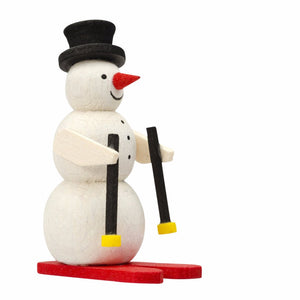 Mini skiing snowman - Christmas tree decoration