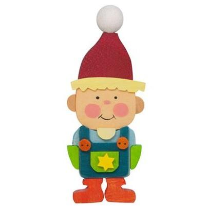 Gnome Children (Boy with Red Cap) - Christmas Tree Decoration