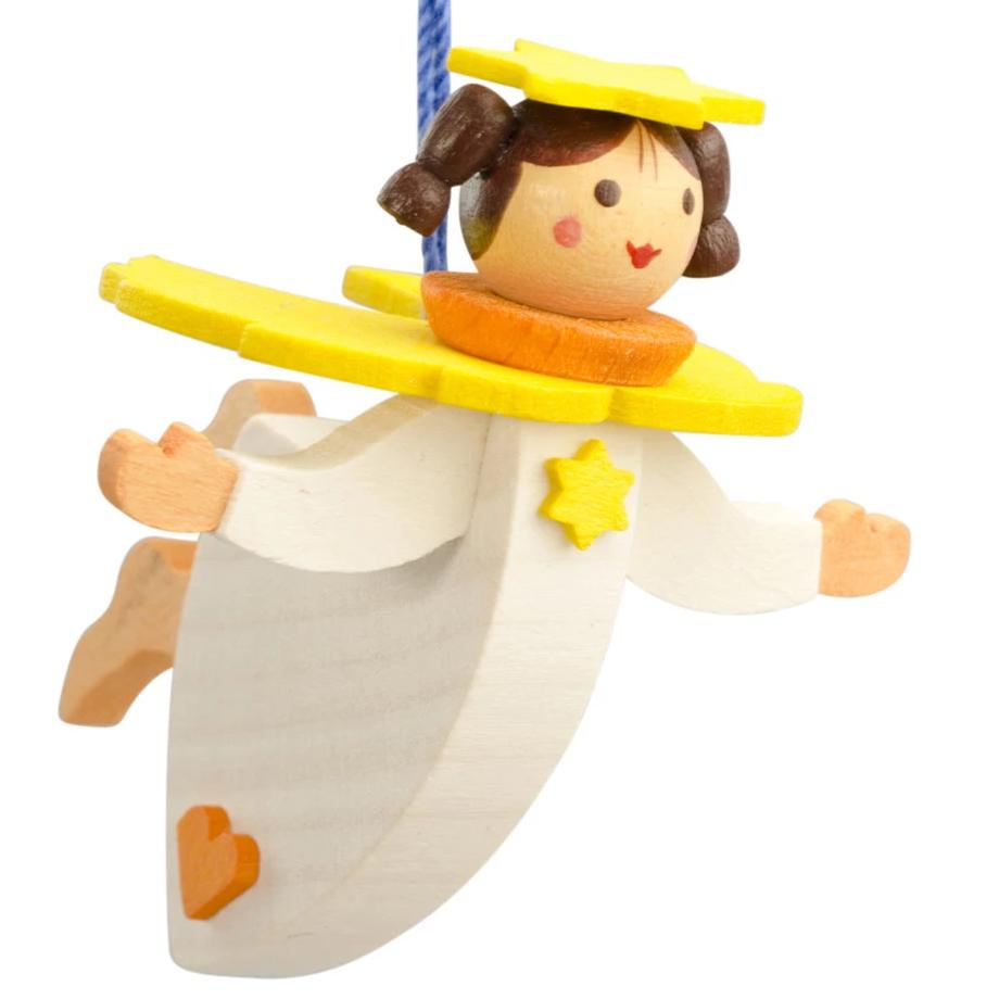 Floating Angel - Lemon Drop - Christmas tree decoration