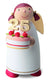 Angel Figurine (Large) - Birthday Cake with Customisable Age (White Angel)