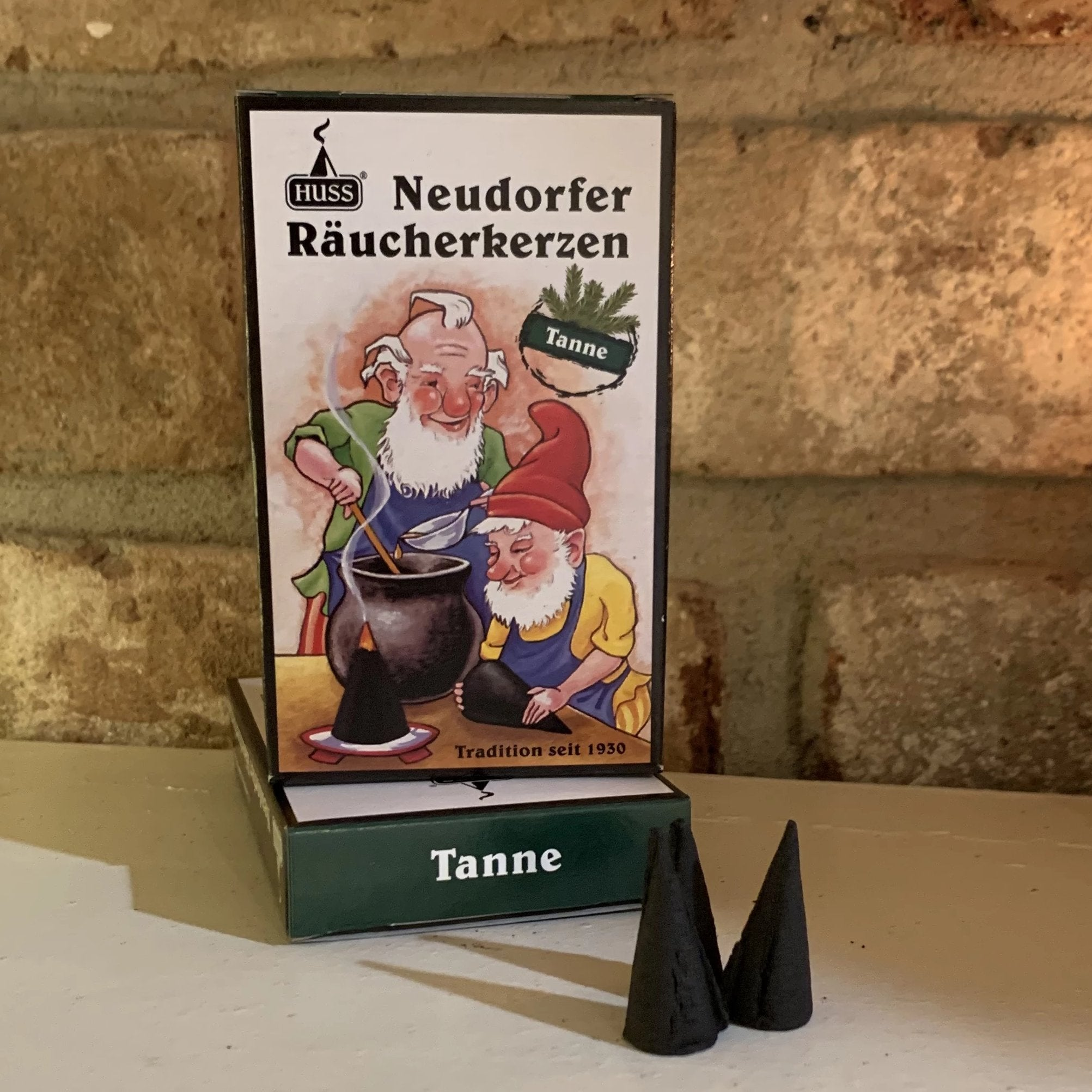 Premium Incense Cones (Regular-Sized) - Christmas Tree