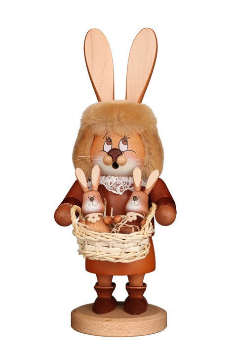 Easter Incense Burner - Collector's Edition - Mrs Easter Bunny with Babies
