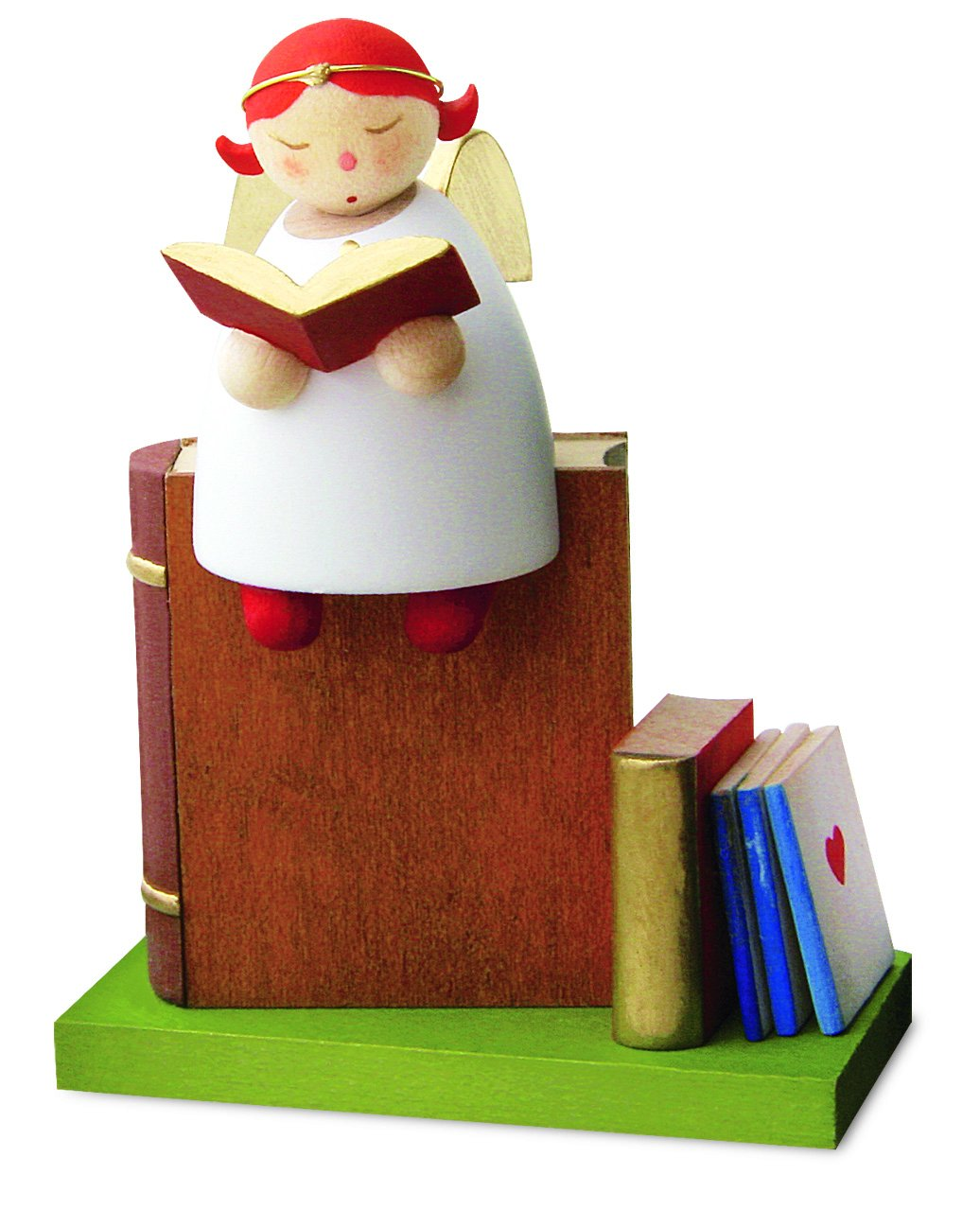 Little Angel Figurine - Guardian Angel on a Book