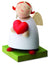 Little Angel Figurine - Guardian Angel with Love Heart