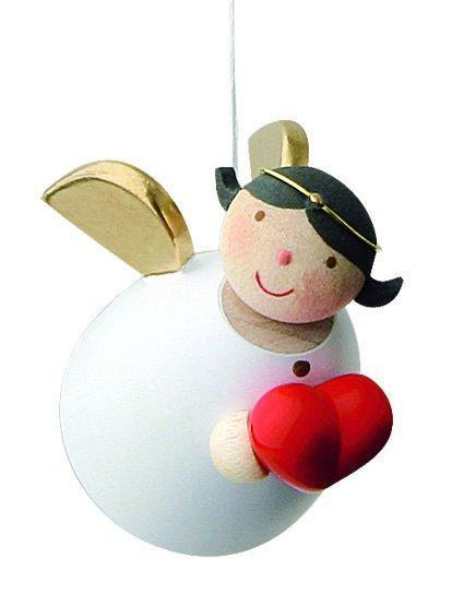 Little Angel Figurine - Guardian Angel with Love Heart (Hanging)