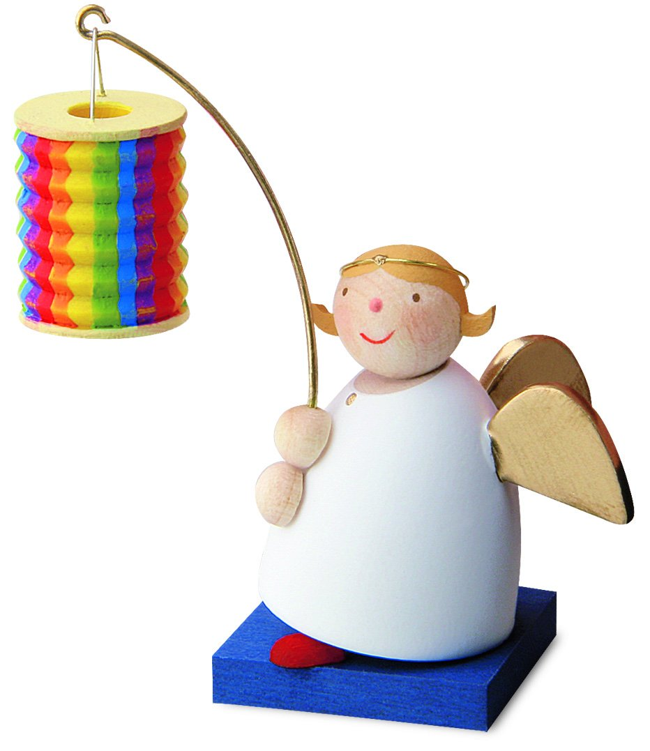 Little Angel Figurine - Guardian Angel with Lantern
