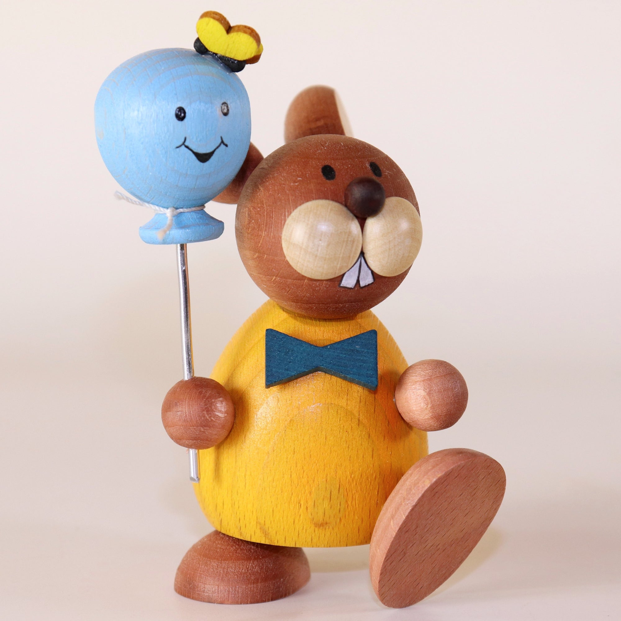 Osterhase Collectible - Bunny Boy with Balloon