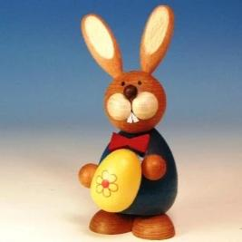 Osterhase Collectible - Bunny Boy with Large Easter Egg