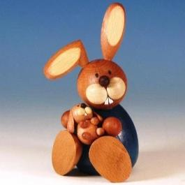 Osterhase Collectible - Bunny Boy with Baby