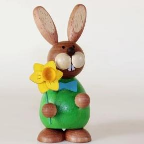 Osterhase Collectible - Bunny Boy with Daffodil