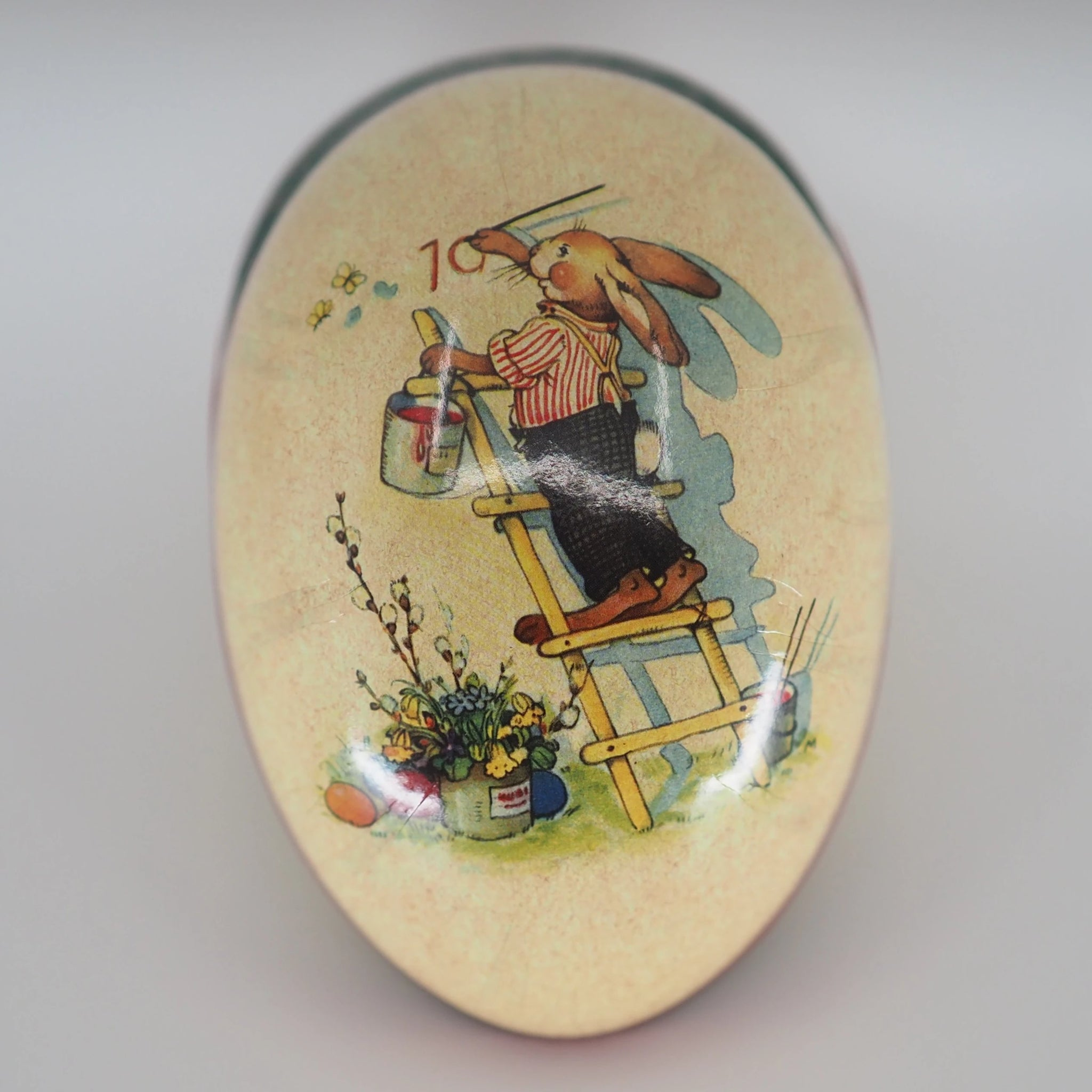 Easter Egg Container (Medium) - Easter Bunny Painter