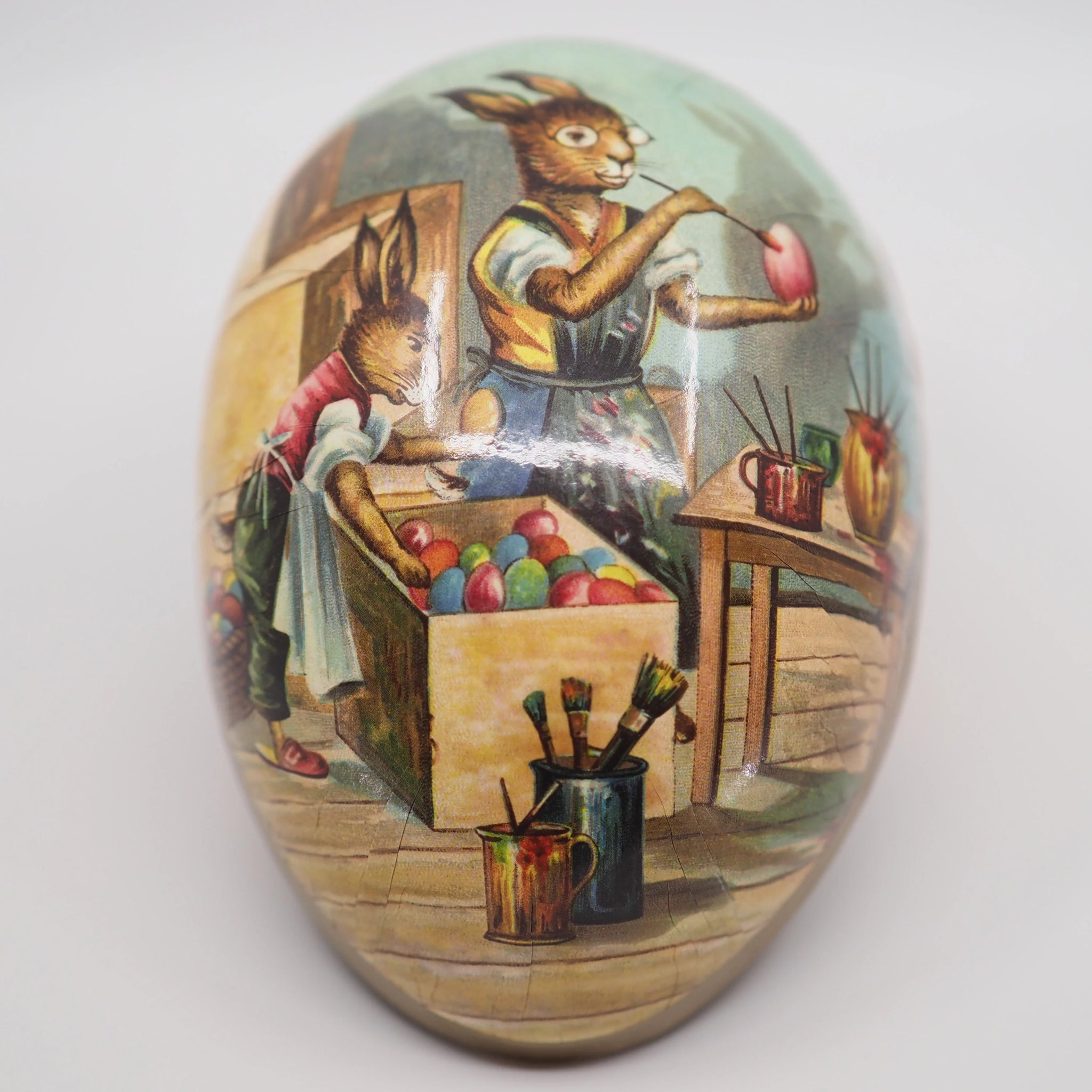Easter Egg Container (Large) - Easter Bunny's Workshop