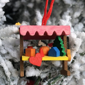 Mini Christmas Market Stand -  Christmas tree decoration