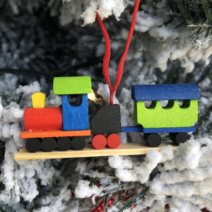 Mini Steam Train -  Christmas tree decoration