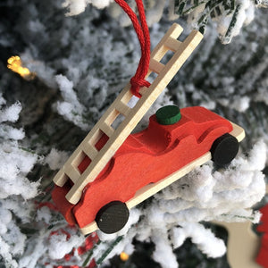Mini Fire Engine - Christmas tree decoration