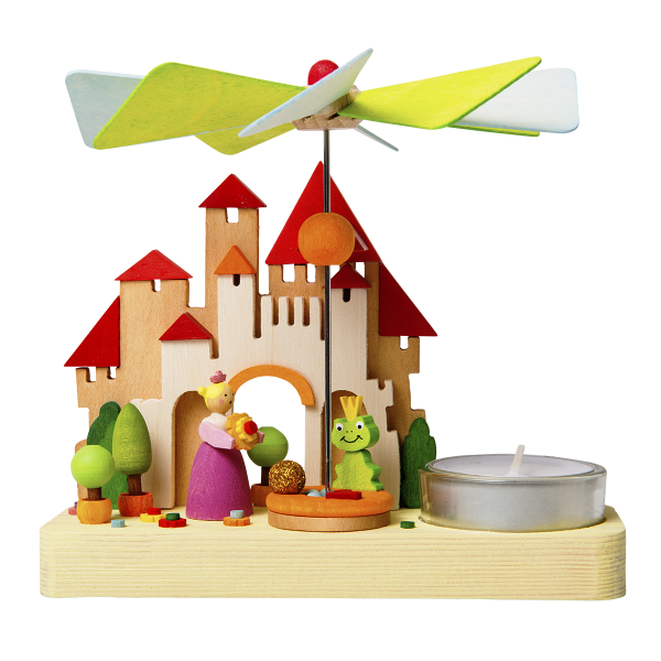 Christmas Pyramid (Small) - Fairytale Frog Prince