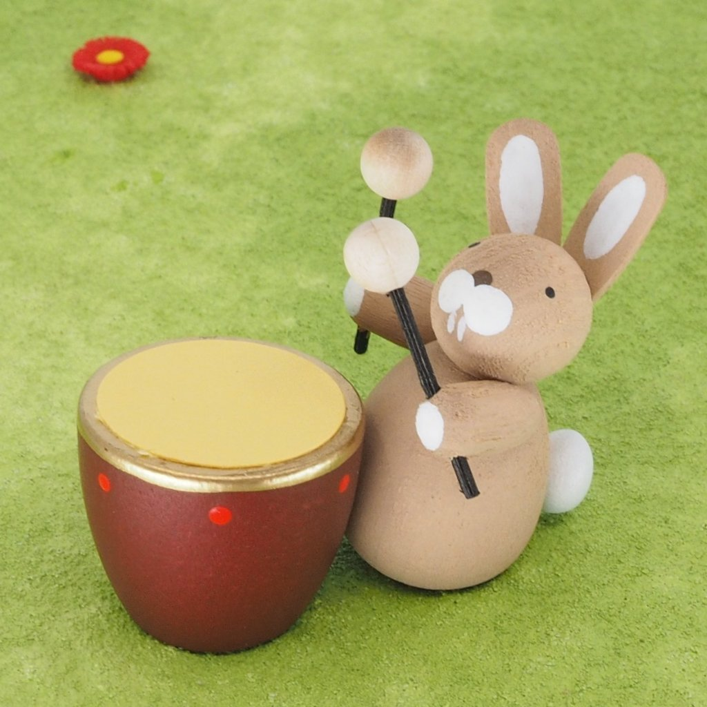 Premium Easter Bunny - Easter Bunny with kettledrum