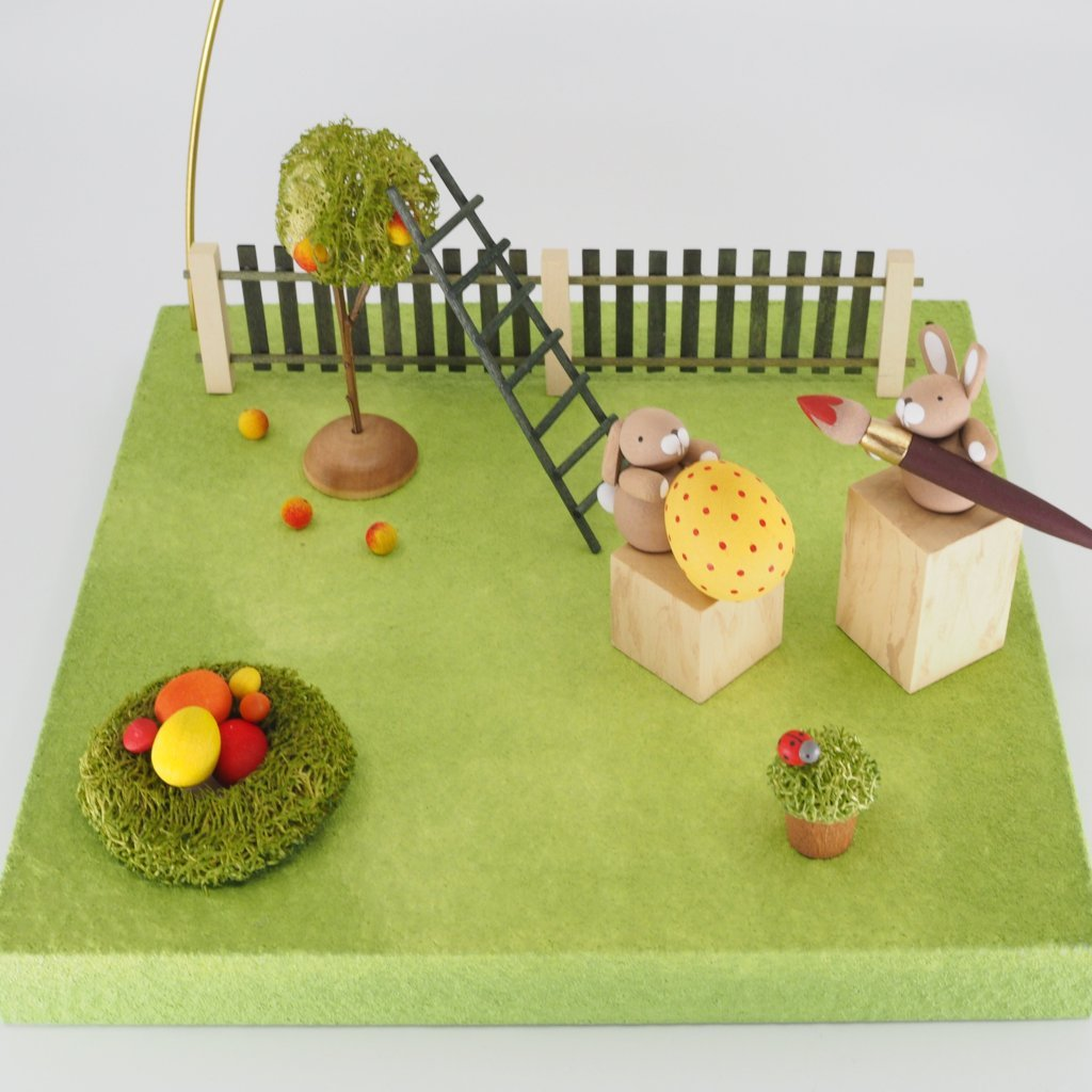 An Easter Starter Pack - Easter Orchard with Bunnies