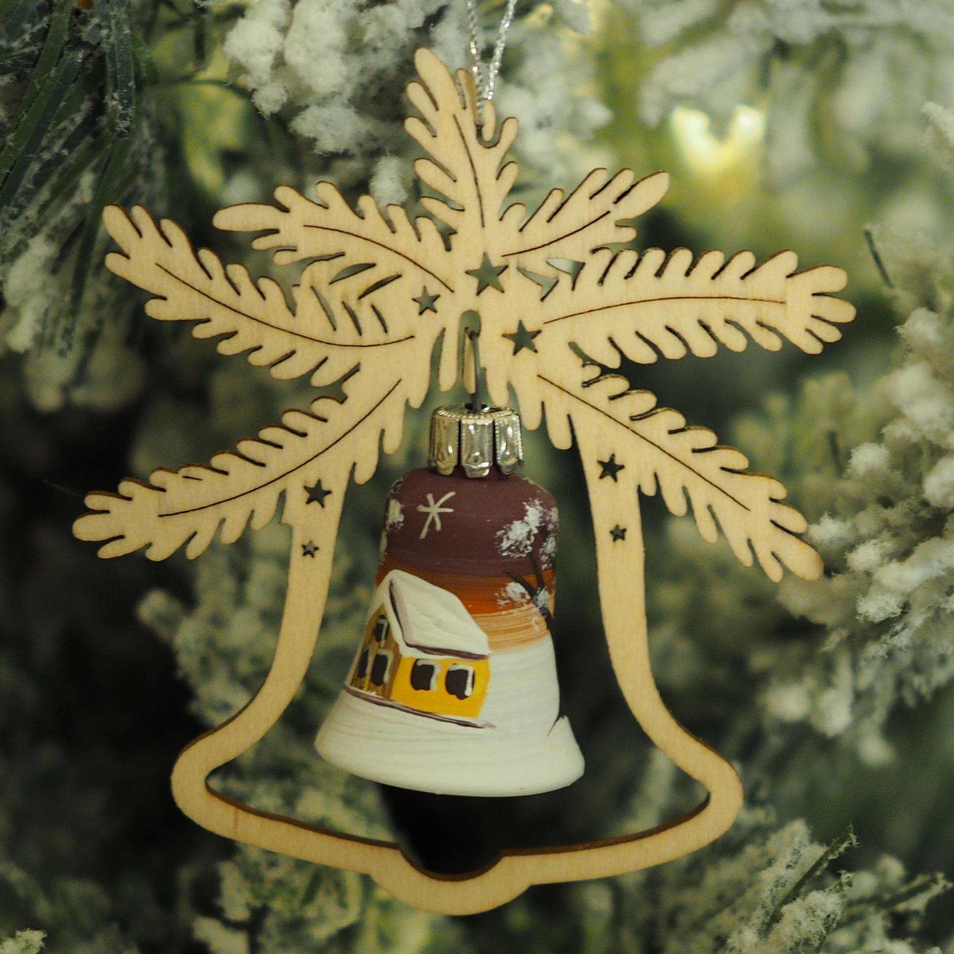 Elke's Bell (Sunset Village) - Christmas tree decoration
