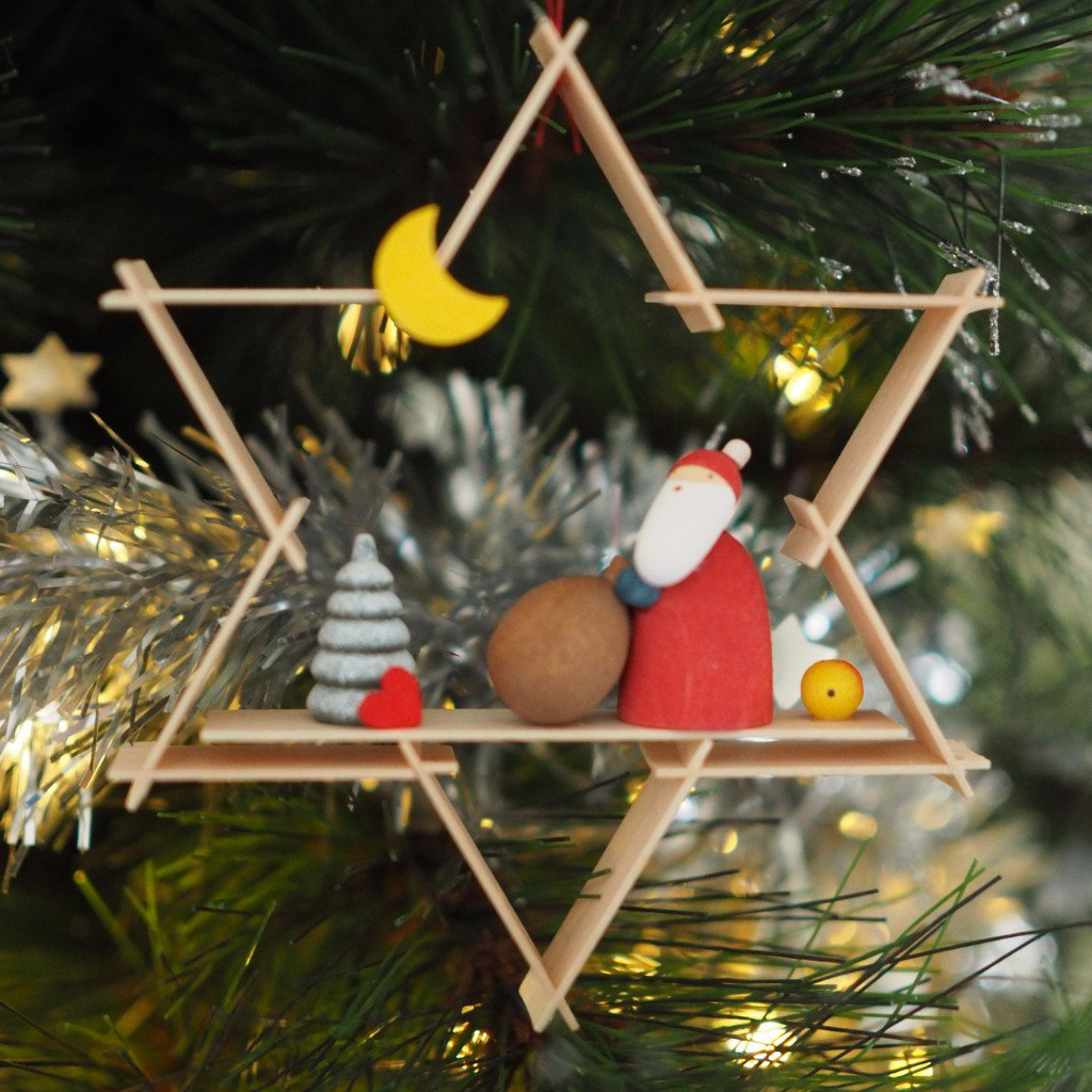 A Superstar Santa - Christmas tree decoration