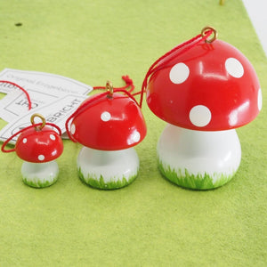 Easter Mushrooms (Set of 3) - Easter tree decoration