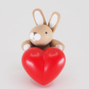 Premium Easter Bunny - Easter Bunny with heart