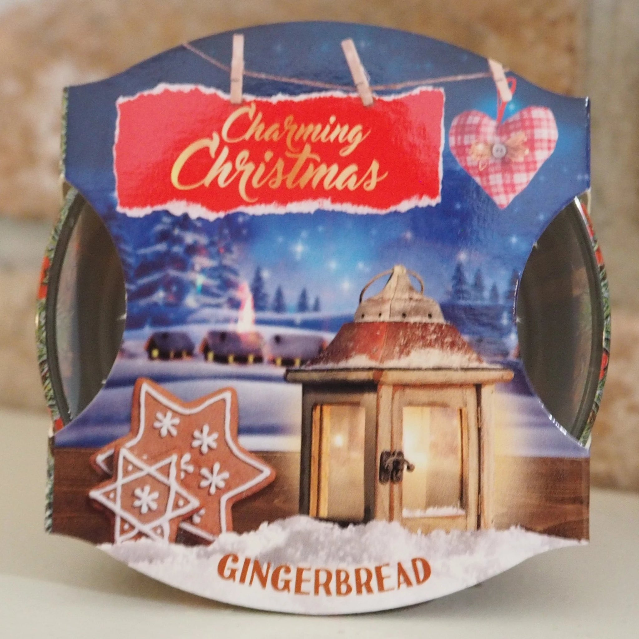 Christmas Scented Candle - Gingerbread