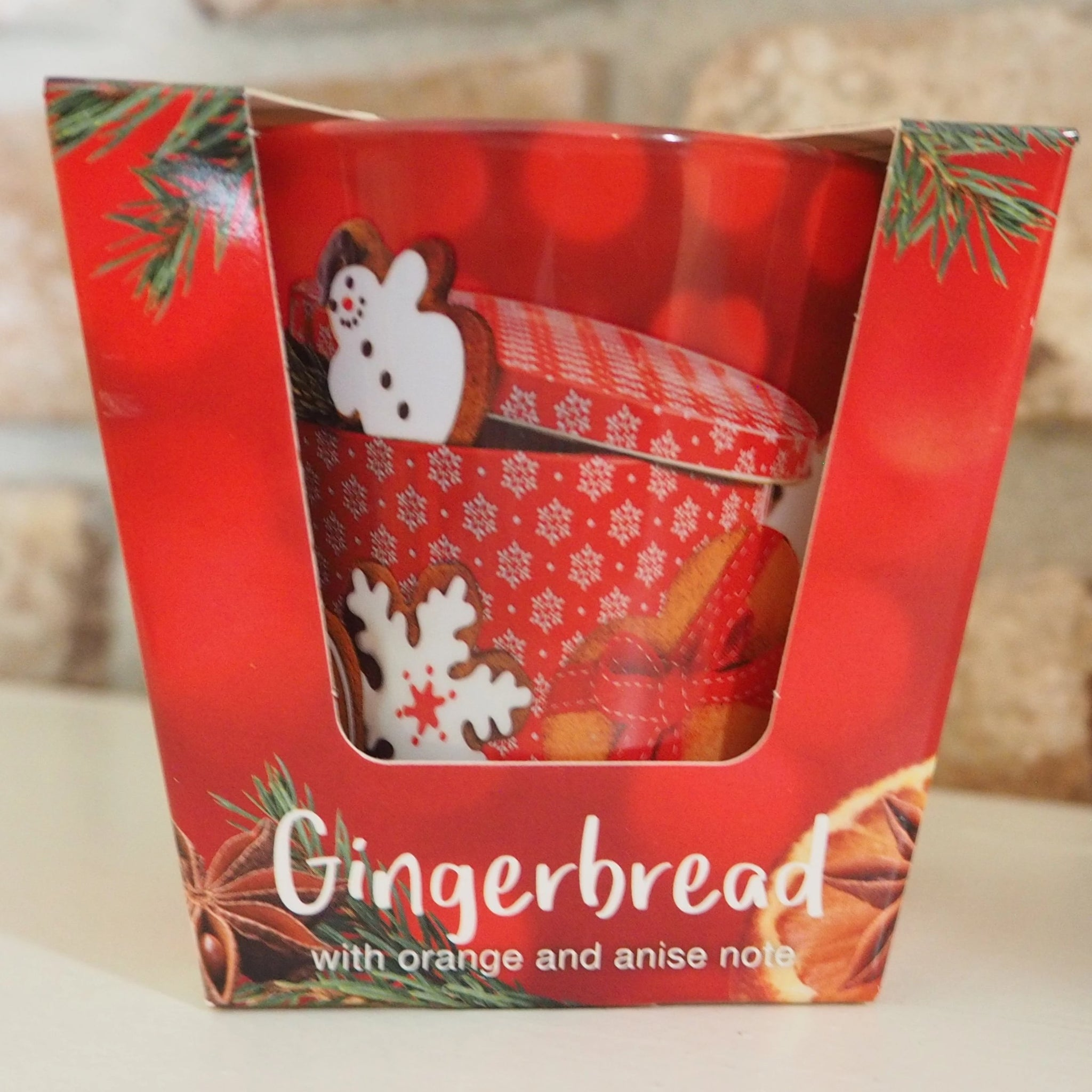 Christmas Scented Candle - Gingerbread with Orange and Anise