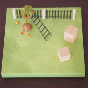 Figurine Stand - Apple Orchard
