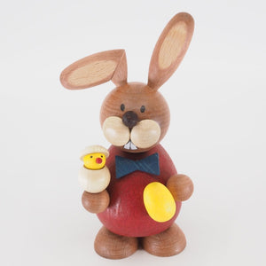 Osterhase Collectible - Bunny Boy with Hatching Chick