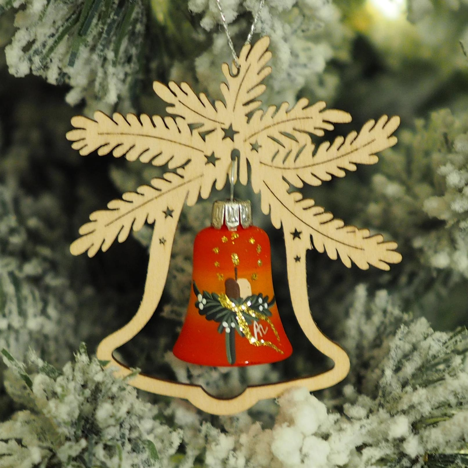 Elke's Bell (Advent Candle) - Christmas tree decoration