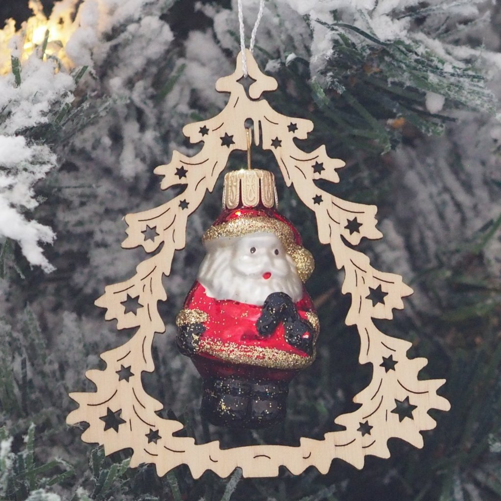 Elke's Fir Tree (Santa) - Christmas tree decoration