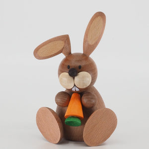 Osterhase Collectible - Bunny Boy eating a Carrot
