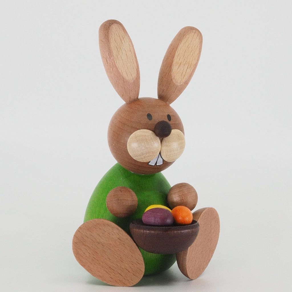 Osterhase Collectible - Bunny Boy with Easter Eggs