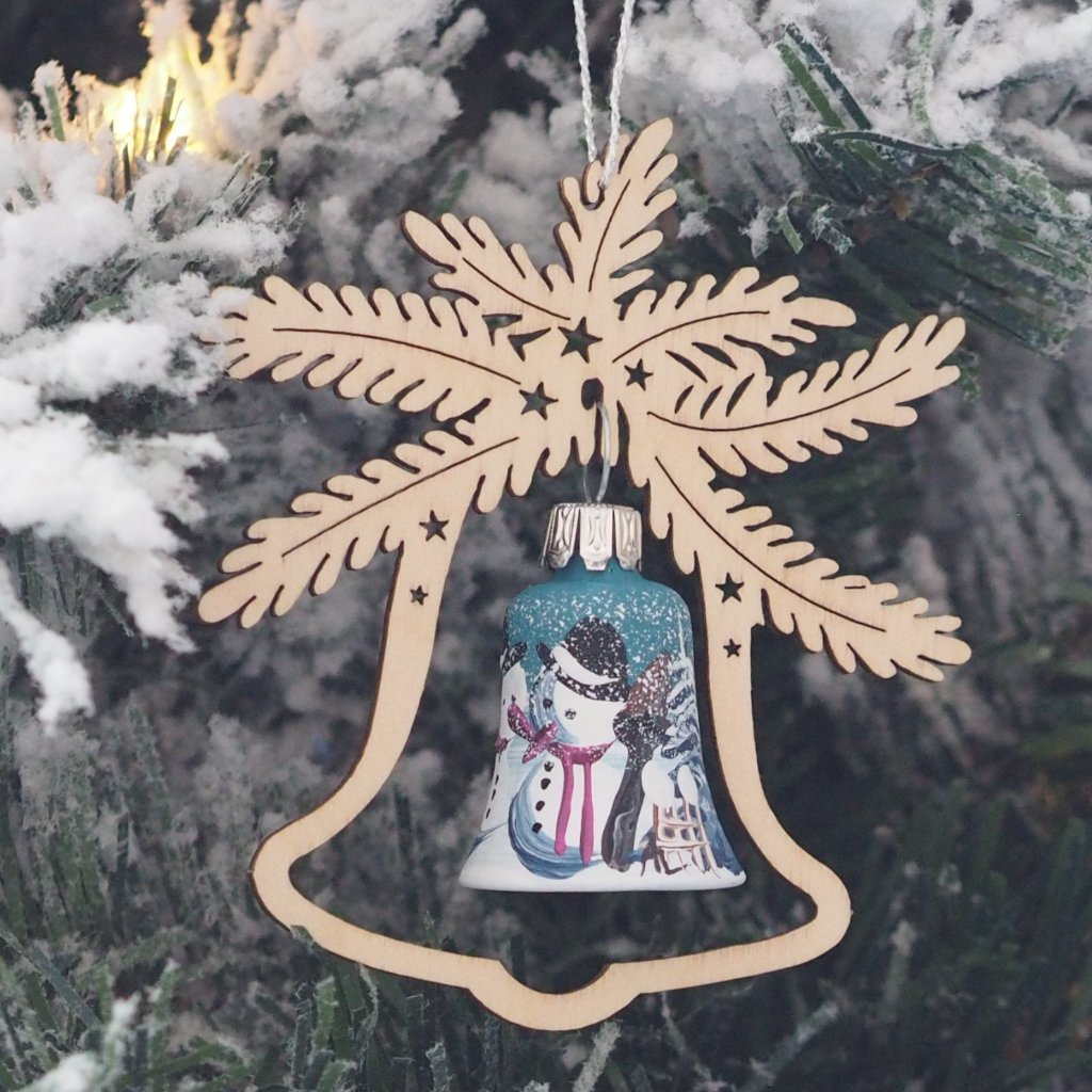 Elke's Bell (Snowman) - Christmas tree decoration