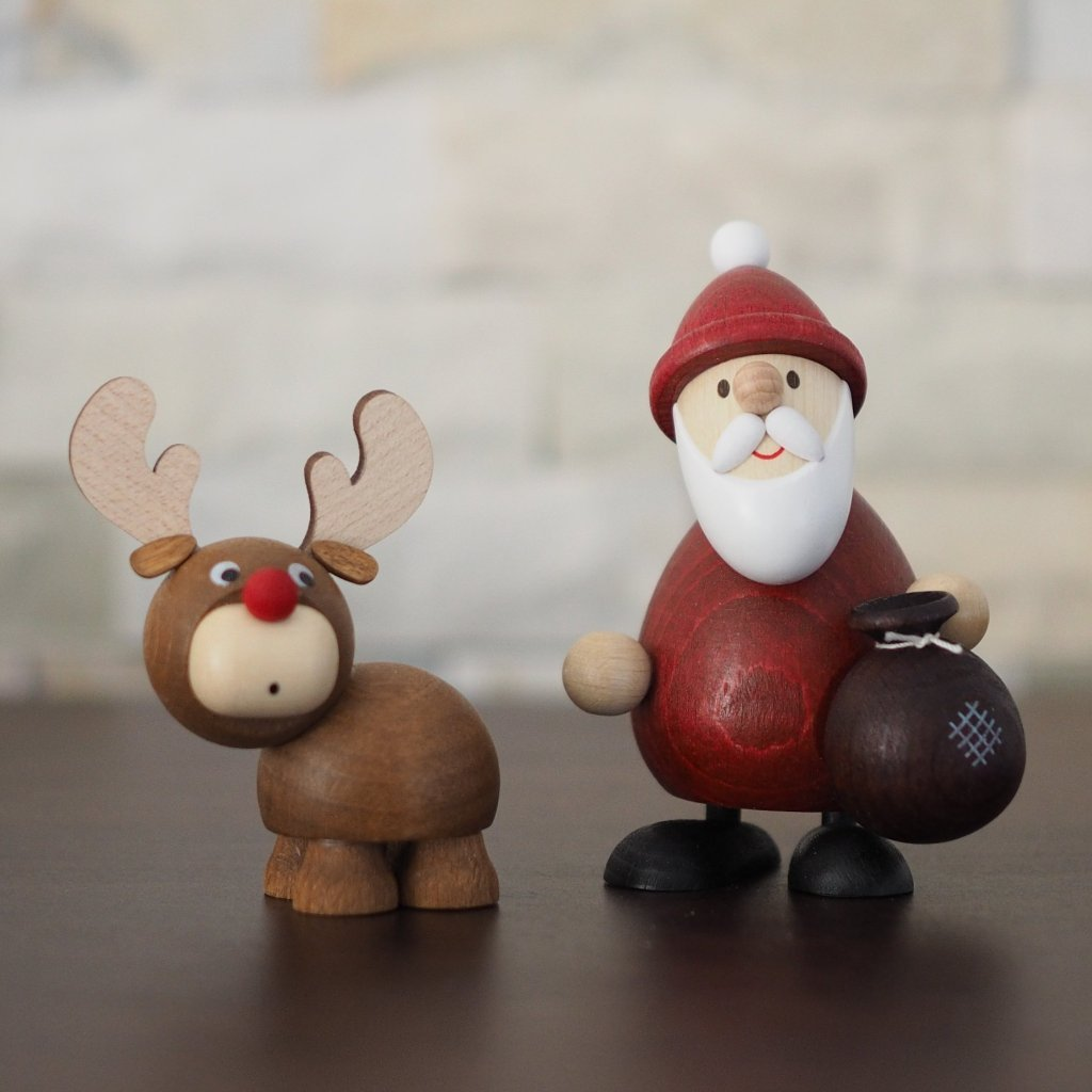 Weihnachtsmann Collectibles - Santa and Rudolph