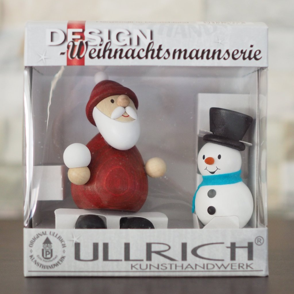 Weihnachtsmann Collectibles - Santa and Snowman