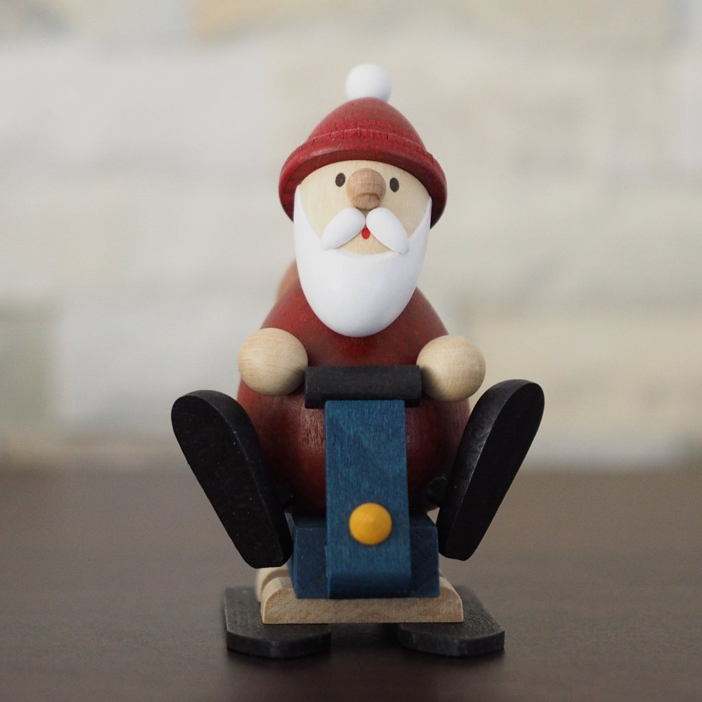 Weihnachtsmann Collectibles - Santa on a Snowmobile