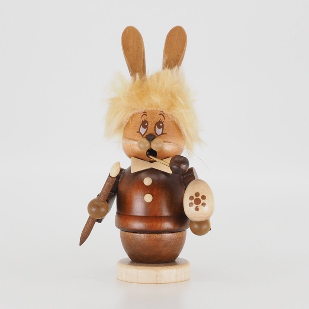 Easter Incense Burner (Small) - Bunny Boy Decorating Eggs