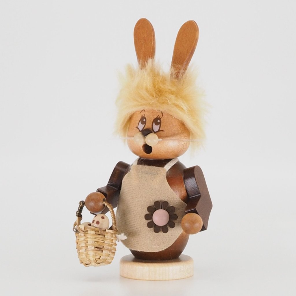 Easter Incense Burner (Small) - Bunny Girl with Basket